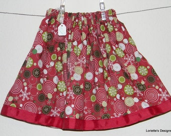 Lollipop Skirt, Size 18 to 36 Months