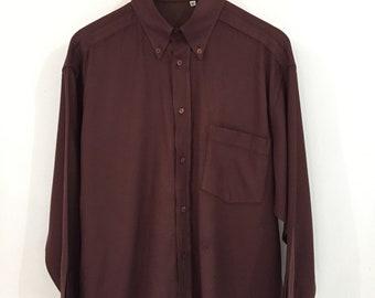 Versace Jeans Couture VJC Brown Shirt Medium