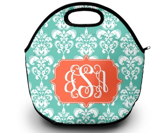 Lunch Bag for Women | Damask | Lunch Bag | Gift for Her Lunch Bag for Women