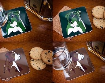 Single Dog Coasters - it's a pick and mix!