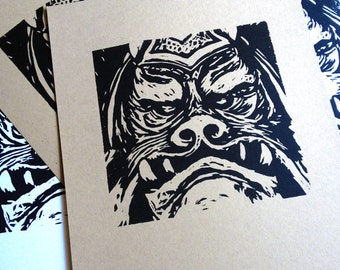 Star Wars Woodcut No. 2