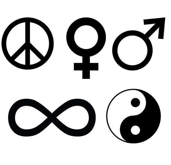 Symbol Svg Collection Female Symbol Male Symbol Sign