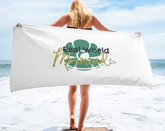 Real World Mermaid Towel