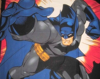 Batman Panel, Batman Quilt Top, Batman Fabric, 1 yard panel, quilt top, quilt panel, quilting panel, superhero panel, superhero fabric