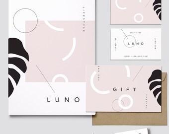 Exclusive Premade Branding Package// Logo & Branding//Brand Identity//Stationary Design//Packaging Design//Web Design