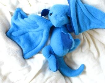 Winged Dragon Plush PDF Sewing Pattern