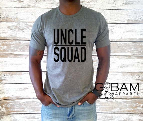 Uncle T-shirt / Uncle Squad Shirt / New Uncle Gift / You're a uncle