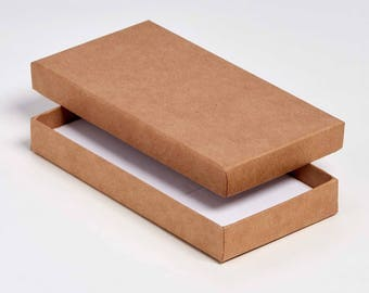 Boîte de carton postal bijoux/Universal 15x7.5x2