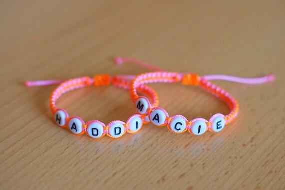 Twin baby bracelet bracelets for twins initial bracelet identical twins personalized bracelet name bracelet newborn boy girl
