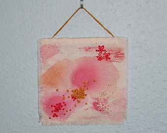 Pink Mini Tapestry