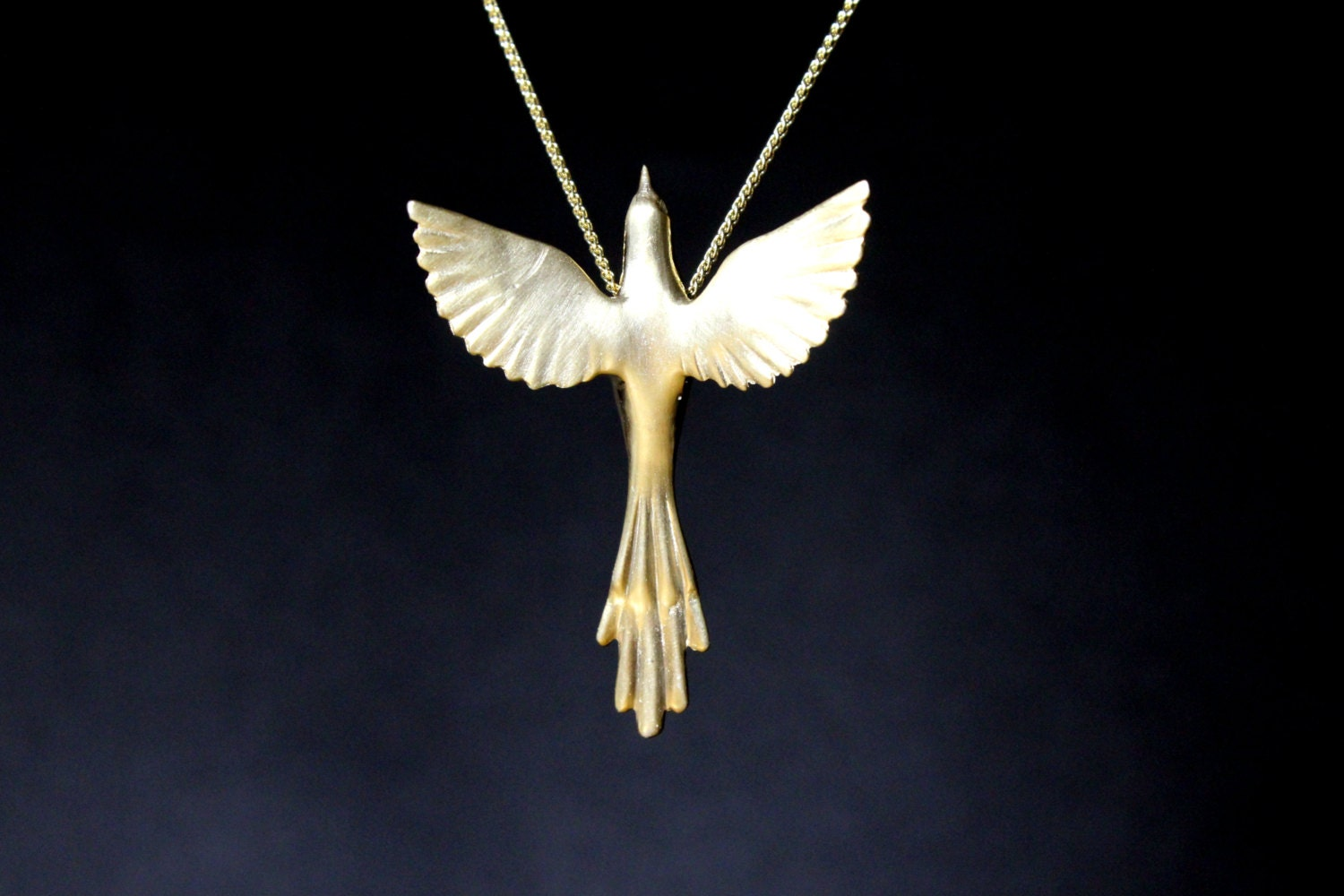 Phoenix bird necklace easter jewelry exotic bird greek mythology phoenix bird necklace easter jewelry exotic bird greek mythology necklace sterling silver pendant open wings hand carved mothers day gift mozeypictures Image collections