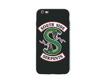Riverdale southside serpents soft sillicon phone case | Jughead Jones | Archie comics Netflix inspired fanart merch