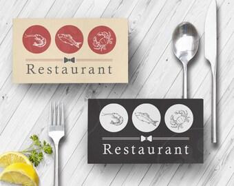 Seafood Logo, Food Logo, Seafood Restaurant, Fish Logo, Restaurant Logo, Branding logo, Business logo, OOKA Logo