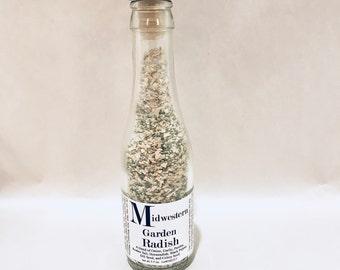 Midwestern Garden Radish - Mini Champagne Bottle