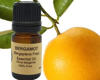 Bergamot Essential Oil (Bergaptene Free) 5 ml, 10 ml or 15 ml
