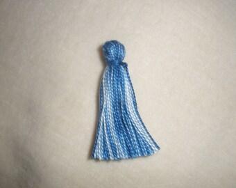 tassels / blue tassels