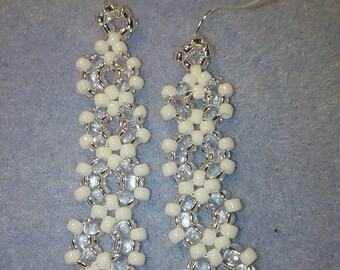 Beautiful beaded earrings