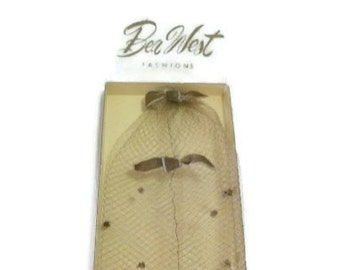 Vintage Bea West Hair Net | Hair Cover In Original Box