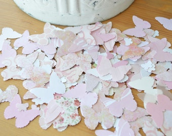 Butterfly Confetti -  Handmade Confetti Blush Pink - Party Embellishment