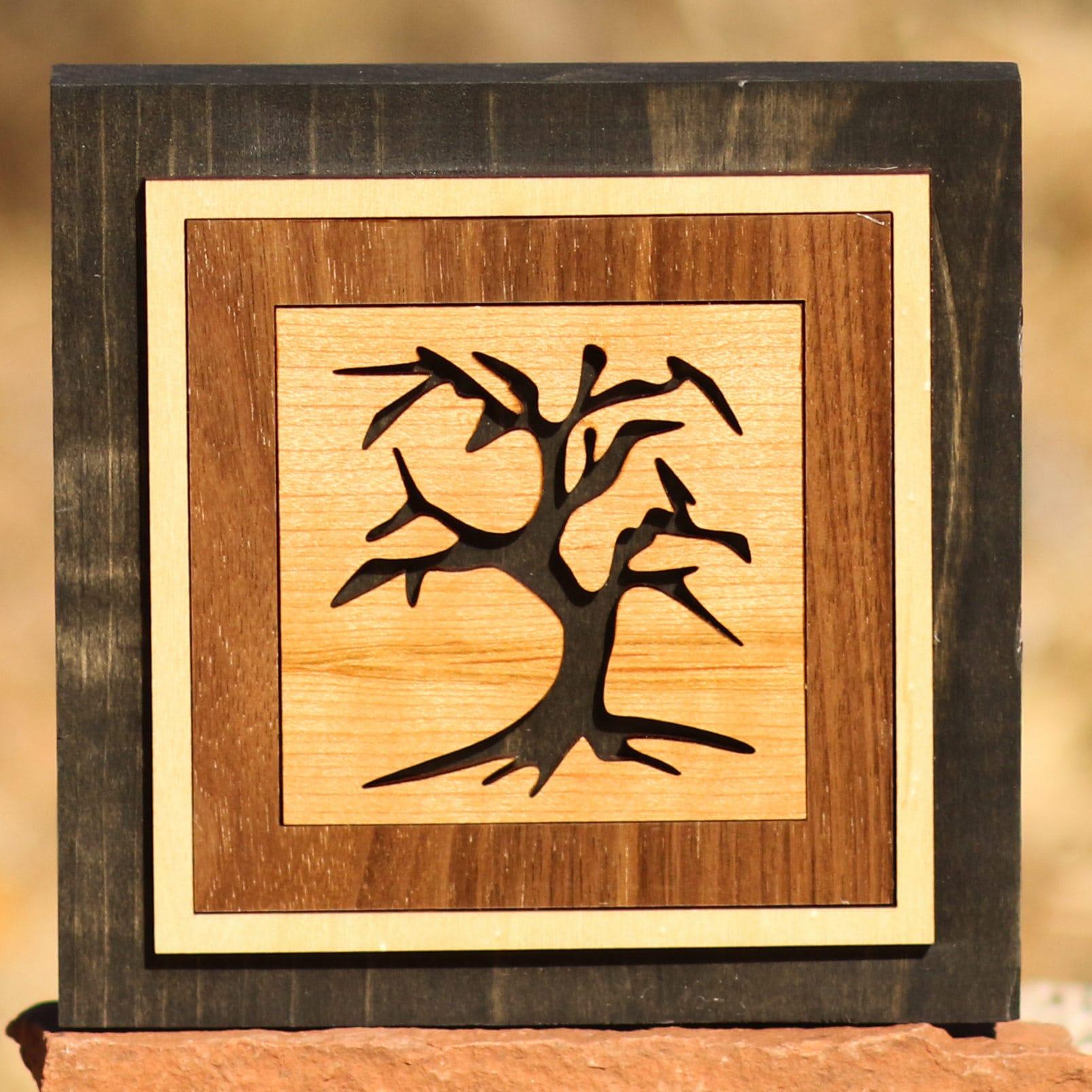 Perfect Wood Tree Wall Decor Model - The Wall Art Decorations ...