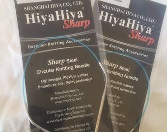 "HiyaHiya sharp 12"" 30cm circular needles 3.25mm"
