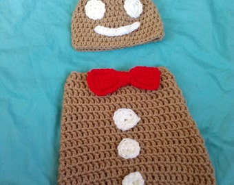 gingerbread baby cocoon