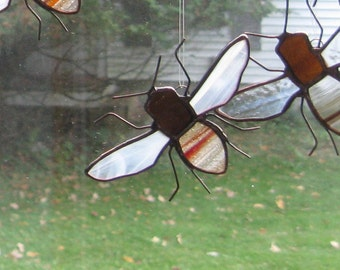 Stained Glass Honey Bee # 2