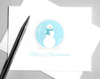 Romantic christmas card romantic holiday card printable printable christmas card holiday card snowman snow globe merry christmas instant download digital download card diy christmas card solutioingenieria Gallery