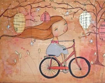A Little Ride Through Wonderland- CANVAS PRINT