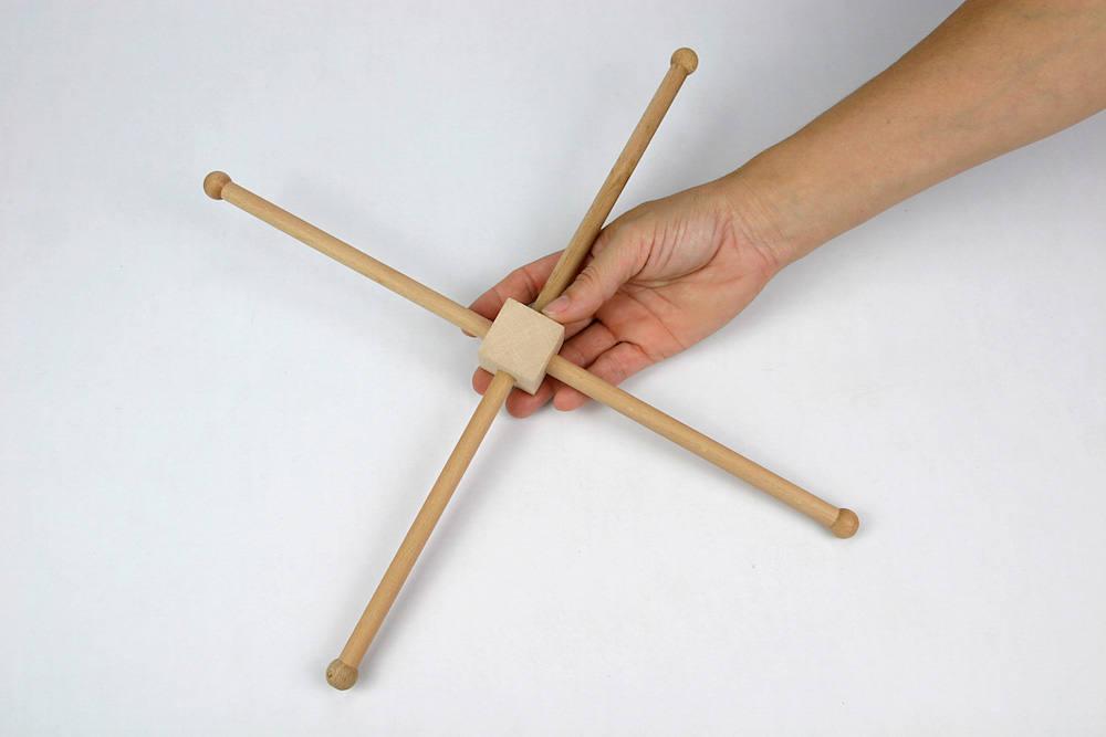 3 bricolaje madera móvil soporte Natural / cuna suspensión - bebé ...