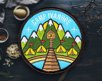 """Scout Camp Patch 