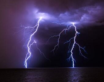 Lightning Over Lake Erie II
