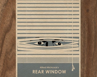 Alfred Hitchcock's Rear Window Limited Edition Print