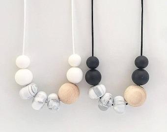 ZURI Marble Necklace + Bracelet - Custom Listing