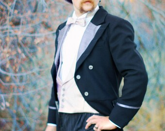 Custom Wool and Silk Morning Coats, Frocks, and Tailcoats