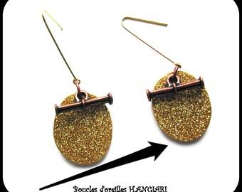 Golden eve # earrings #festive #festive