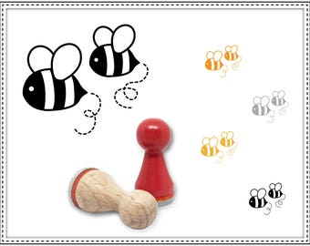 Rubber stamp BEES Ø 15 mm