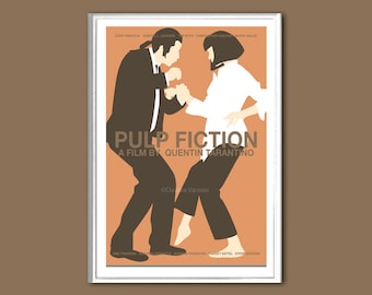 Pulp Fiction movie poster in various sizes