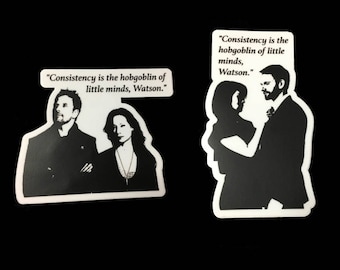 2-Pack -- Elementary (TV Show) Decal / Sticker