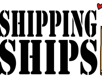 Shipping Ship Boxes  Theme Once Upon a Time