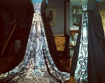 Special one of a kind wedding gown