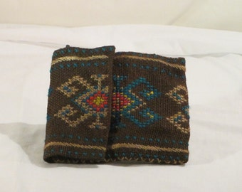 Vintage Cross Stitch Purse from South America