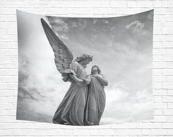 """Guardian Angel Wall Tapestry 60""""x 51"""" (5 colors)"""