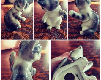 Vintage Kitty Ornament