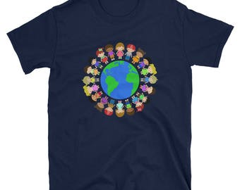 Happy Earth Day 2018 T-shirt -- Save the Earth T-shirt - Recycle Go Green T-shirt, Earth Day April 22 Gift T-shirt