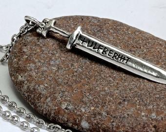 Ulfberht Viking Sword Jewelry Sword Necklace made in NYC