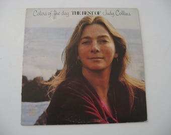 Judy Collins - Colors Of The Day / The Best Of Judy Collins - With Poster! -  Circa 1972