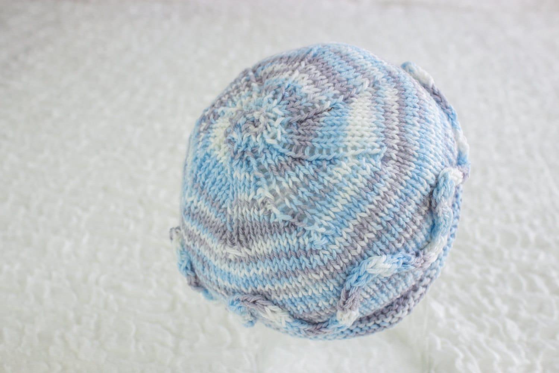 FREE KNITTING PATTERN Simple Newborn Beanie Newborn Hat
