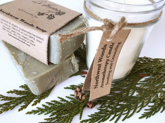 Gift Set - Northwest Candle and Soap Gift Set - Gift Sets