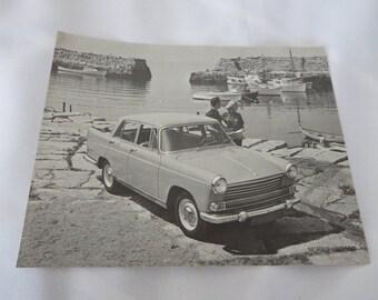 1960 Morris Oxford Car Sales Sheet Brochure Vintage